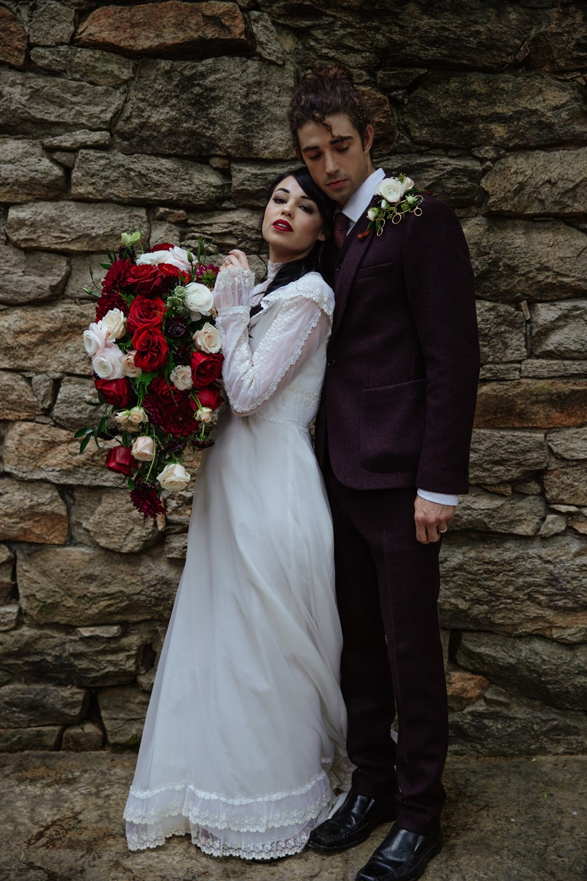 Edwardian Inspired Bride & Groom