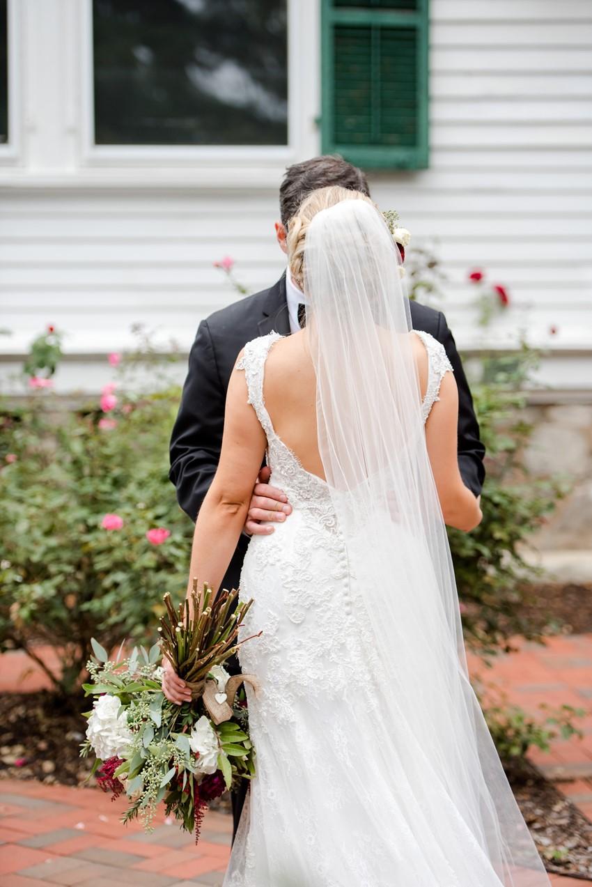 New Jersey Vintage Inspired Bride & Groom