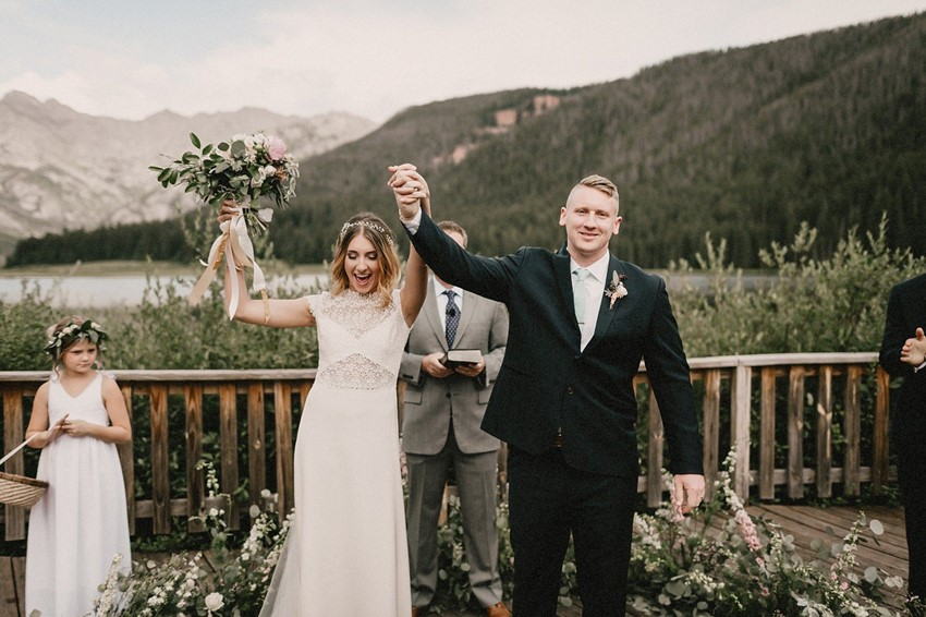 Lakeside Mountain Wedding