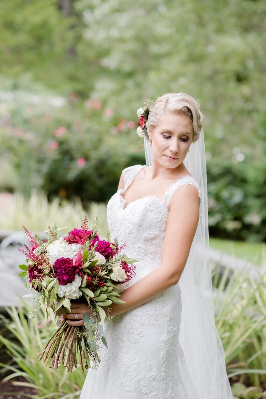 Vintage Inspired Bridal Look