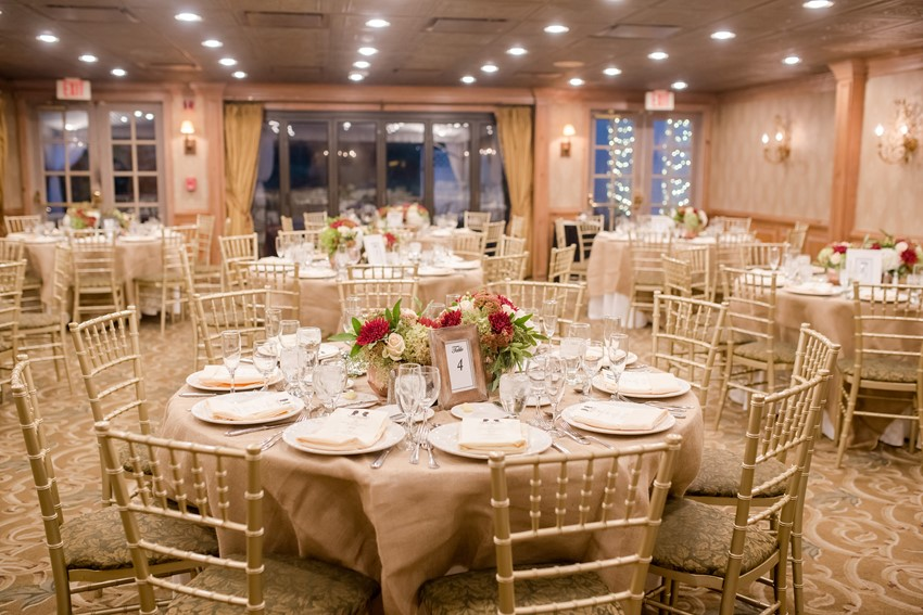Gold Vintage Inspired Wedding Reception