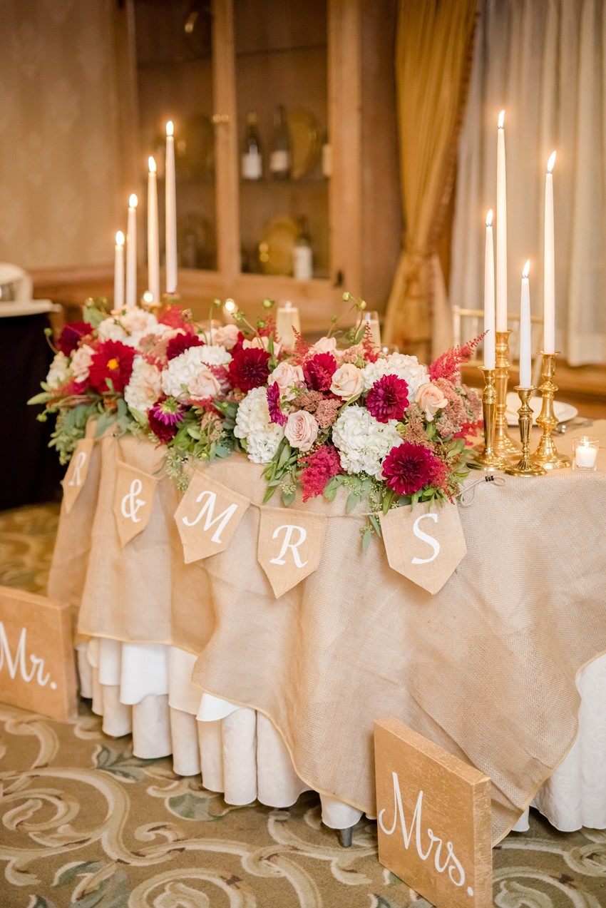 A Romantic Marsala Amp Dusty Rose Fall Wedding Chic