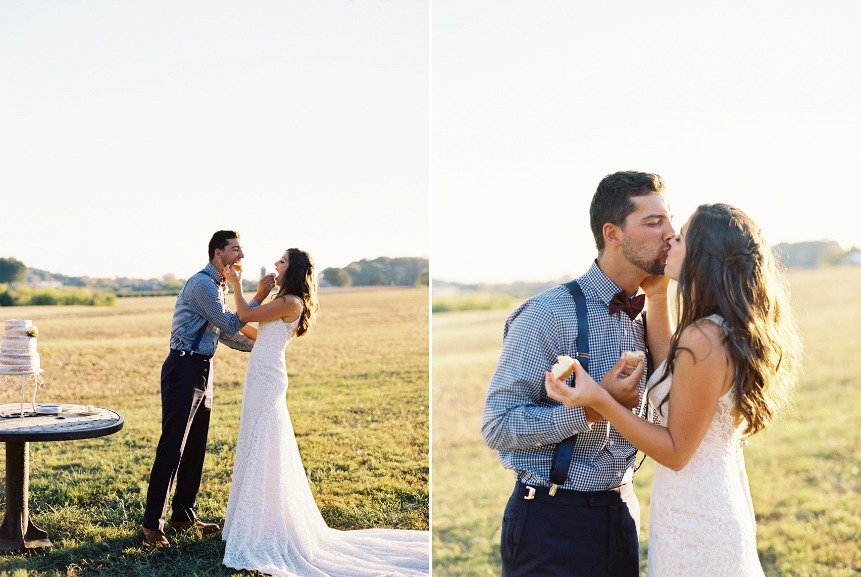 Romantic Fall Vineyard Wedding
