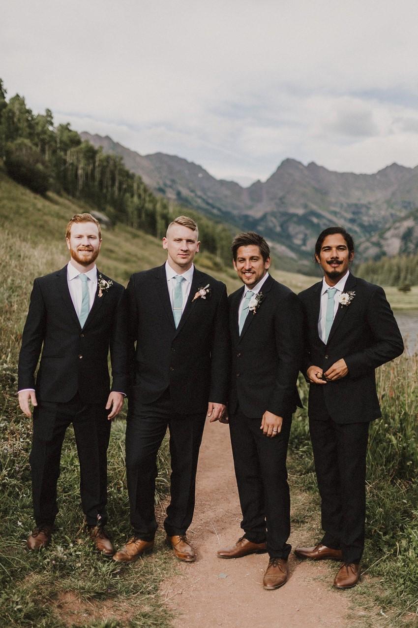 Colorado Mountain Groom & Groomsmen
