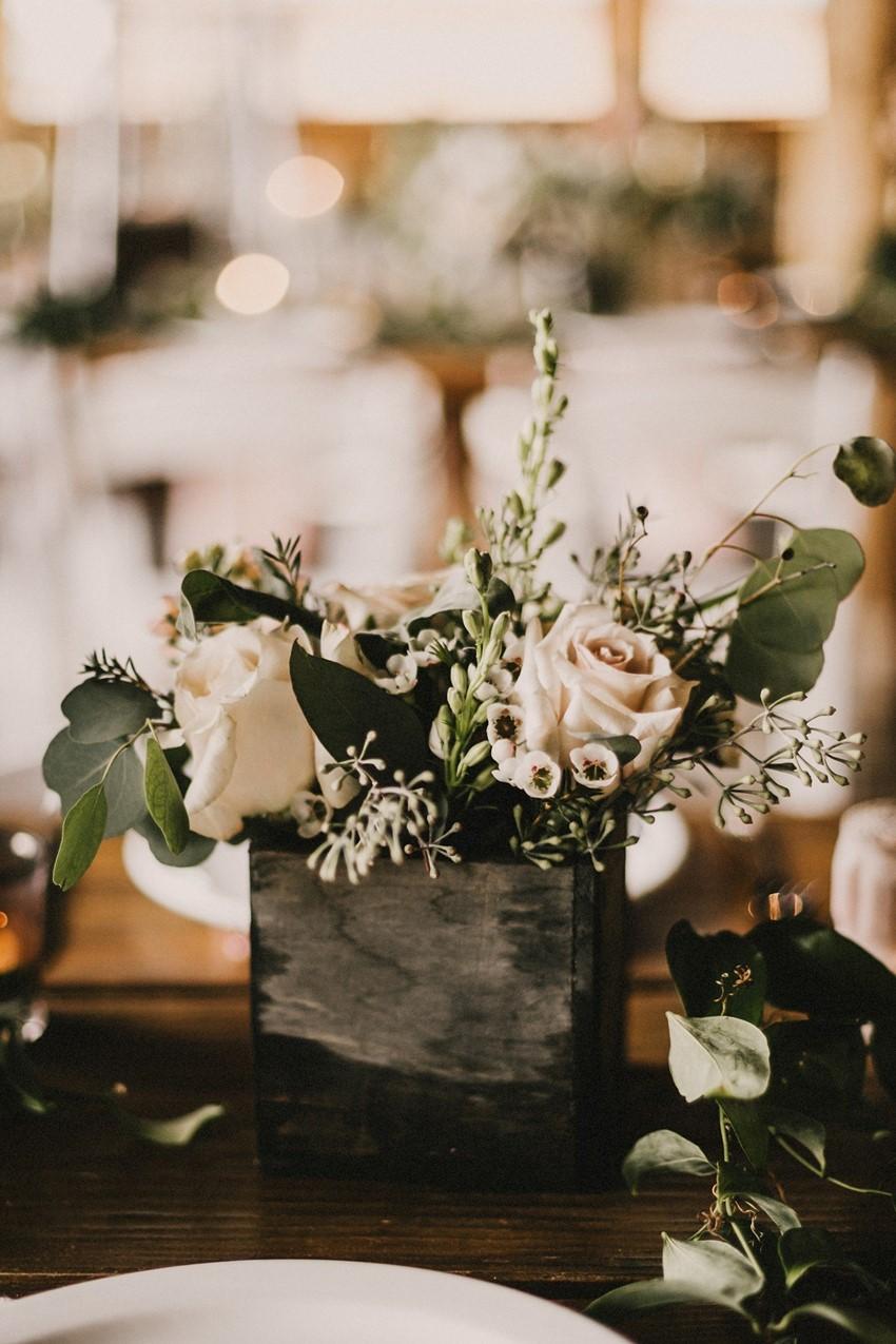 Boho Vintage Wedding Floral Centerpiece