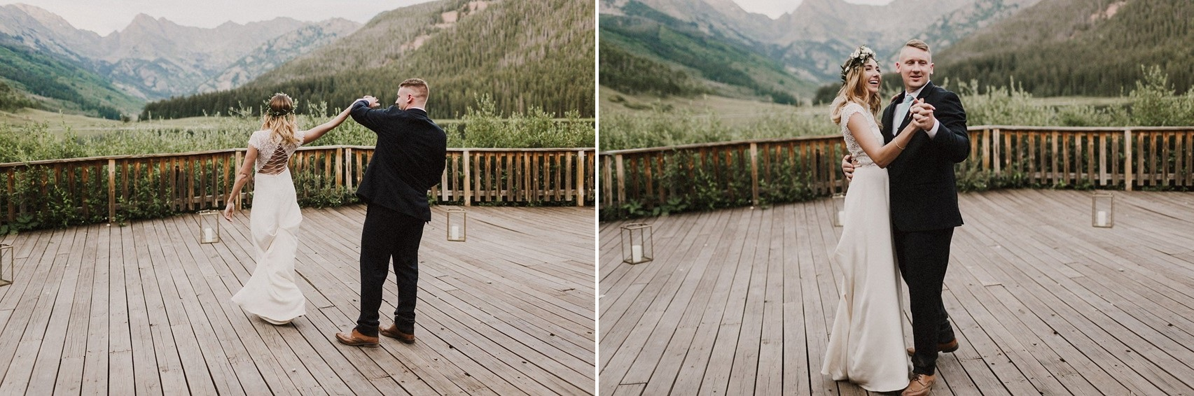 First Dance in the shadow of Mountains