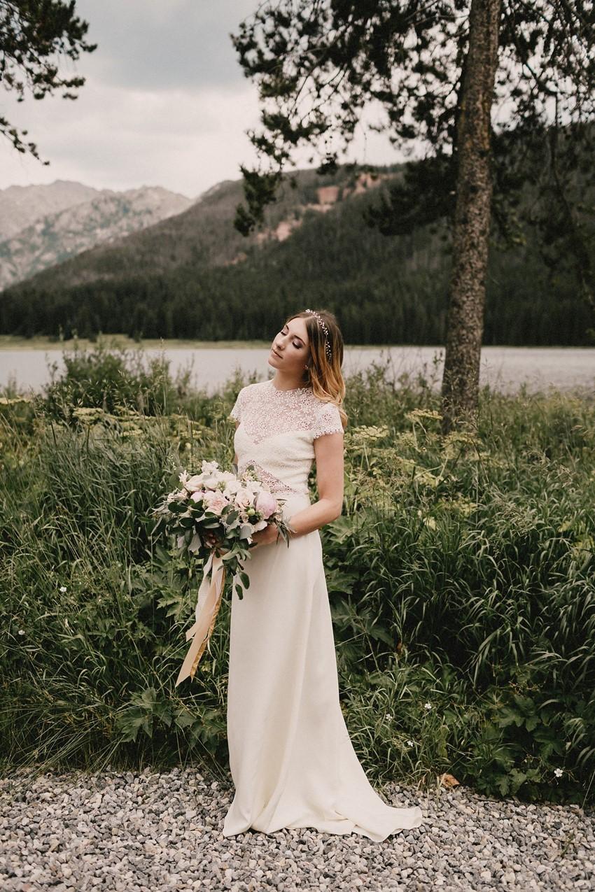 Boho Vintage Mountain Bride