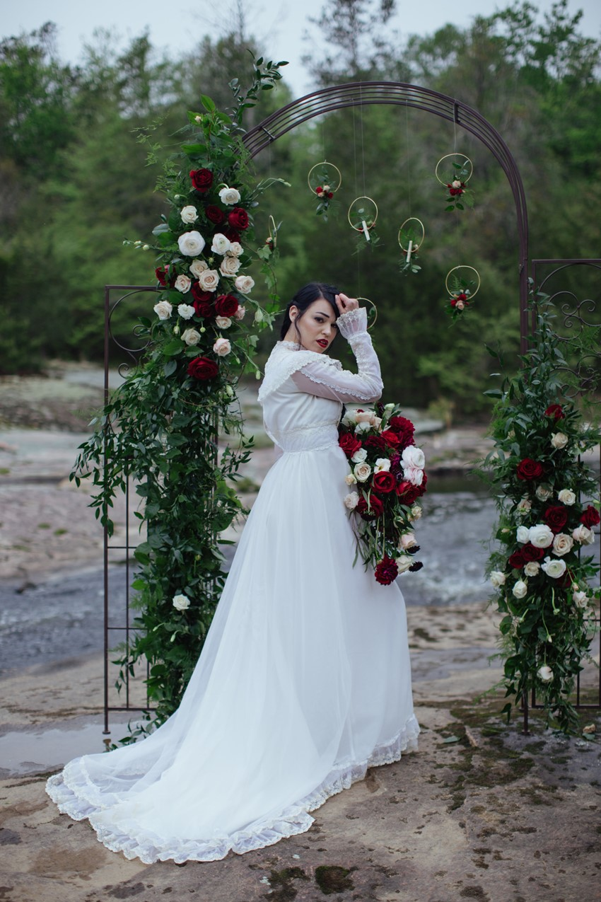 Romantic Edwardian Inspired Bride