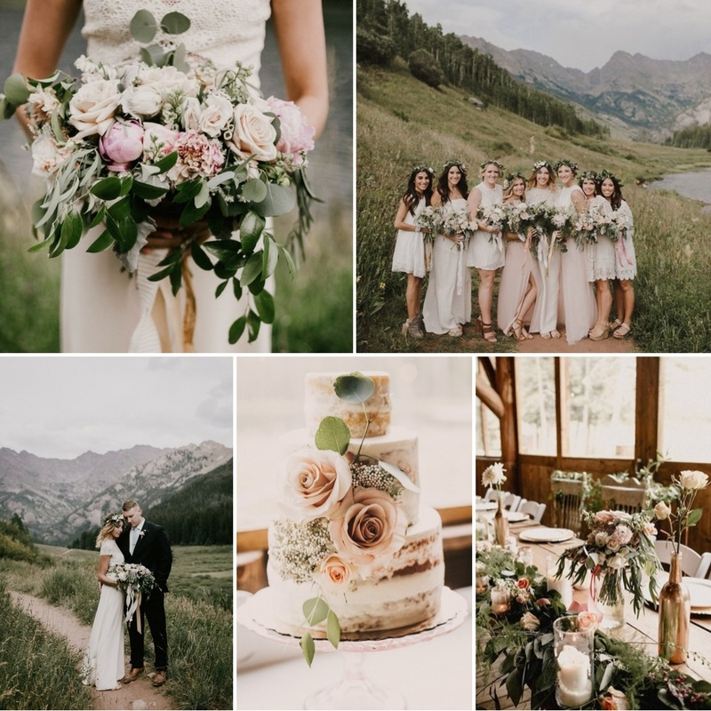 A Boho Vintage Wedding in the Colorado Mountains