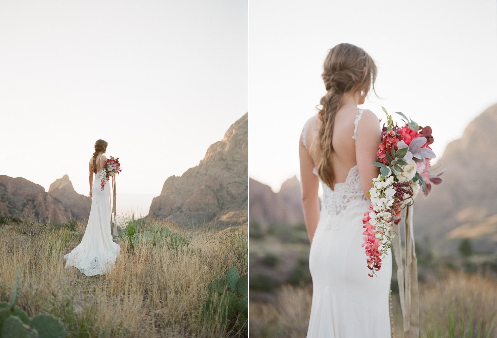 Romantic Rustic Desert Bridal Shoot