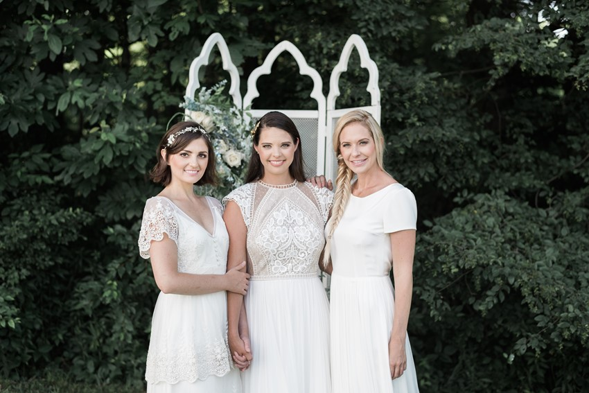 Elegant Vintage Inspired Bridal Looks