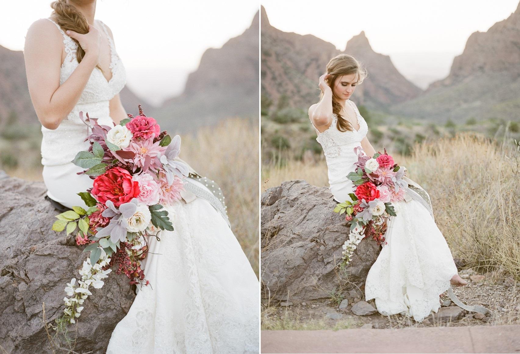 Stunning Cascading Bridal Bouquet