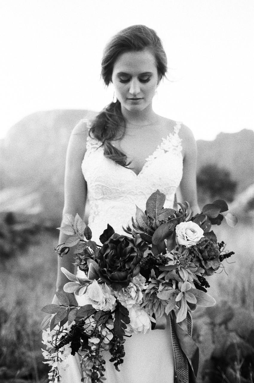 Black & White Bridal Shoot