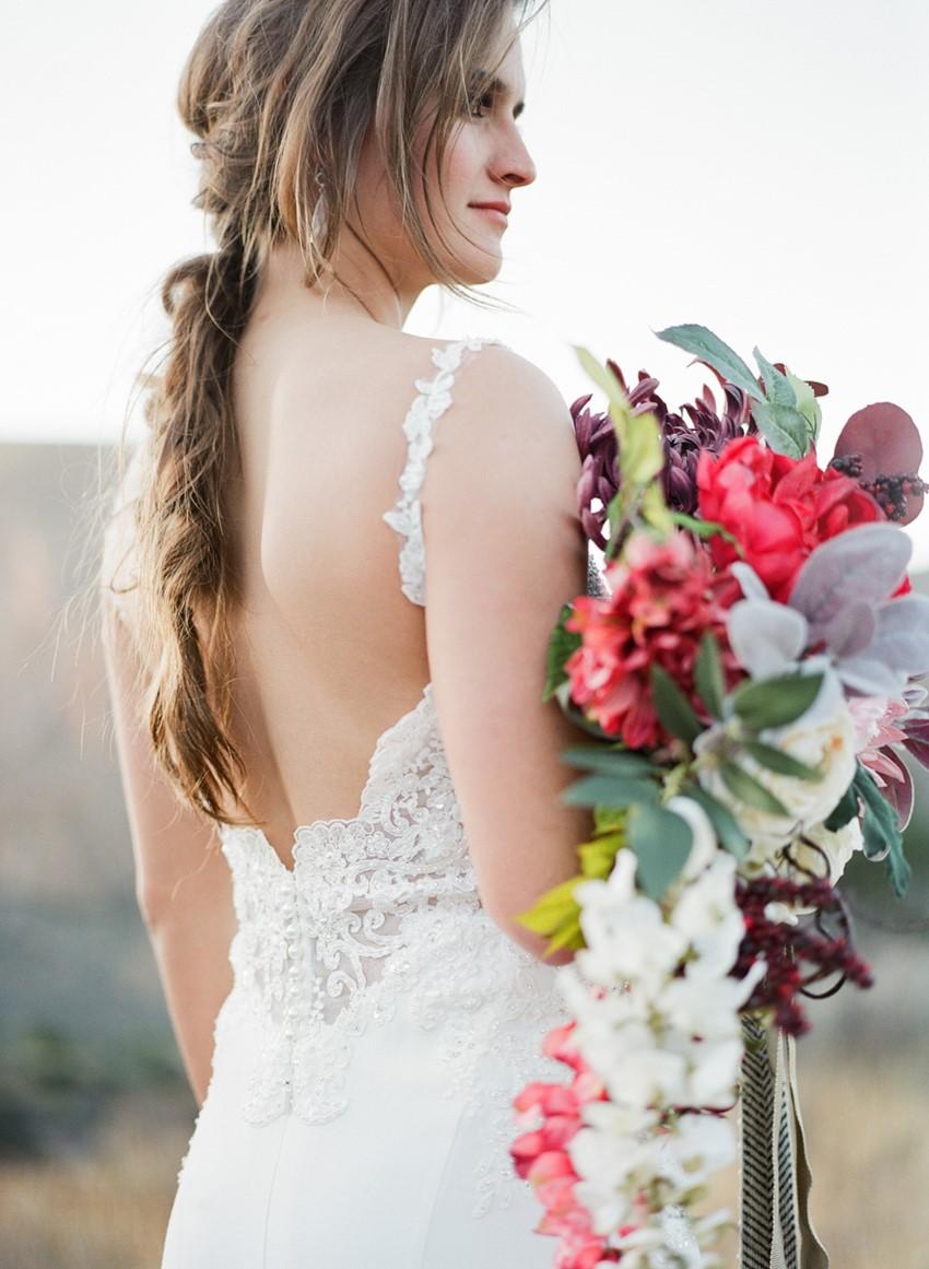 Stunning Bridal Dress Back
