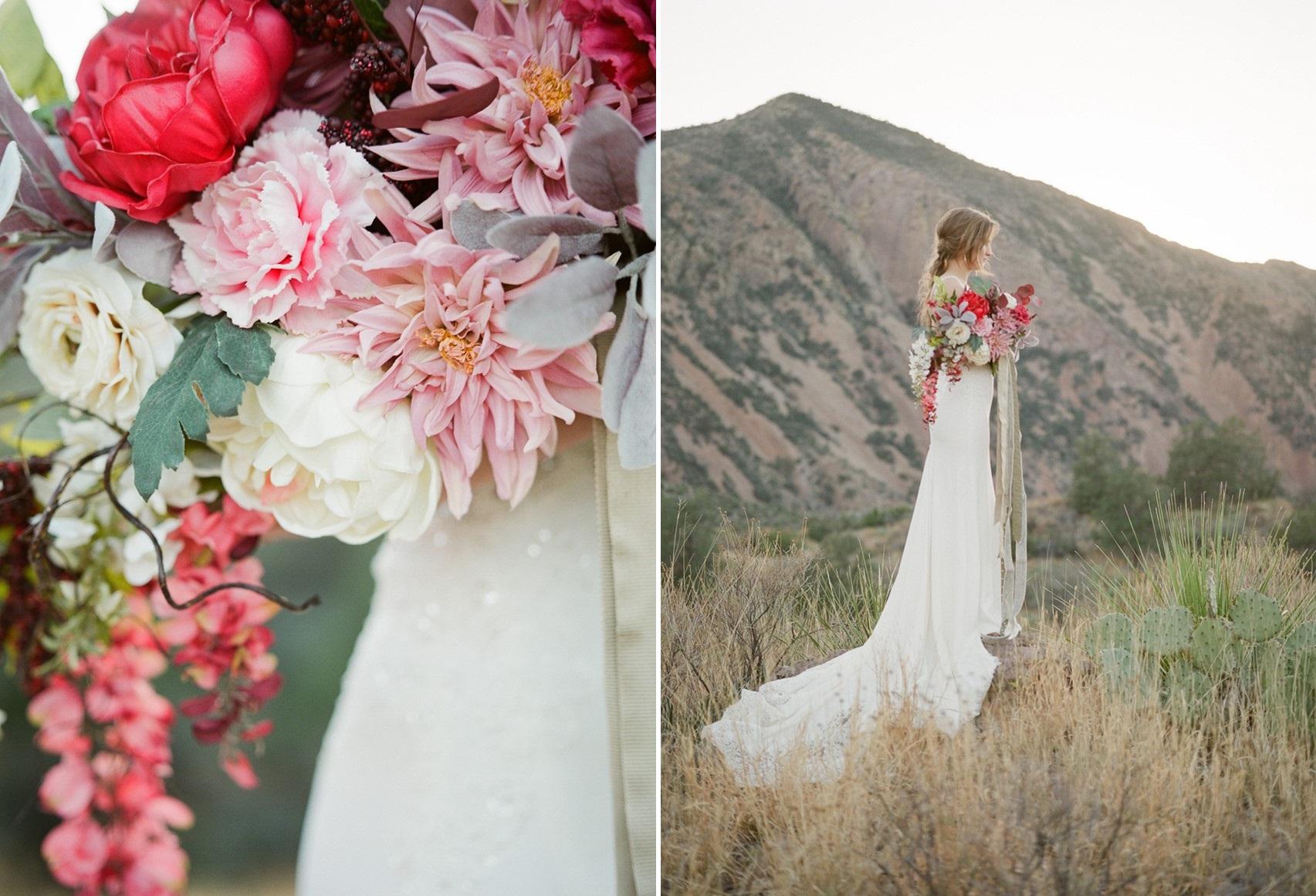 Rustic Romantic Desert Bridal Shoot