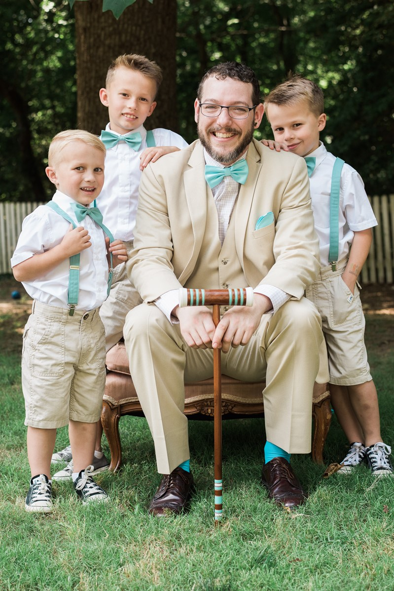Vintage Inspired Groom & Ring Bearers