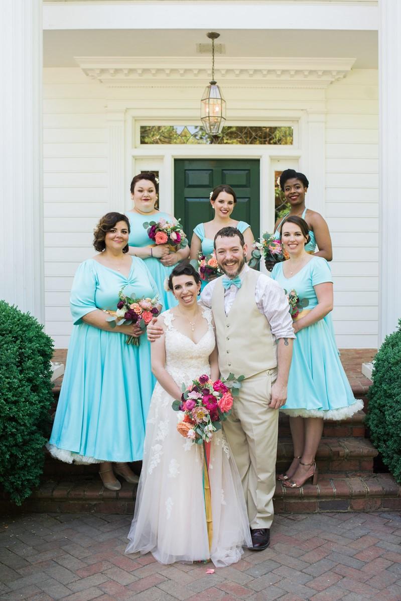 1950s Inspired Summer Wedding