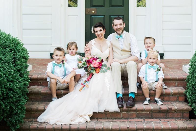Vintage Inspired Summer Wedding