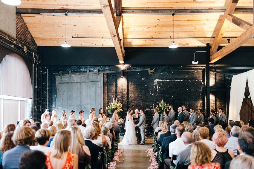 Loft Space Wedding Ceremony