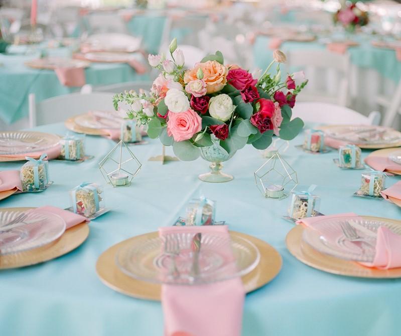 Colorful Wedding Table