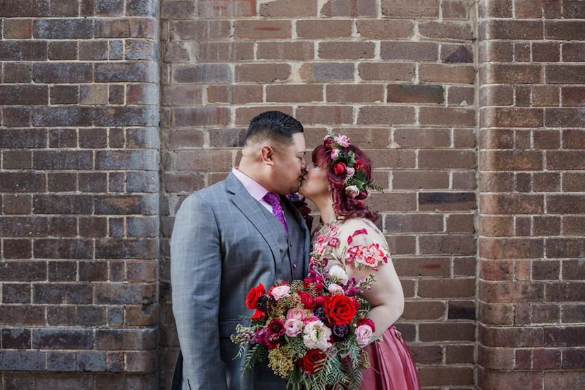 City Wedding Bride & Groom Photos