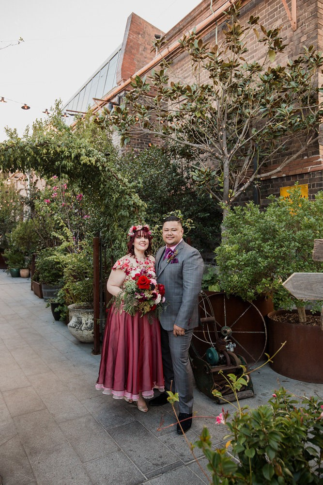 City Garden Wedding