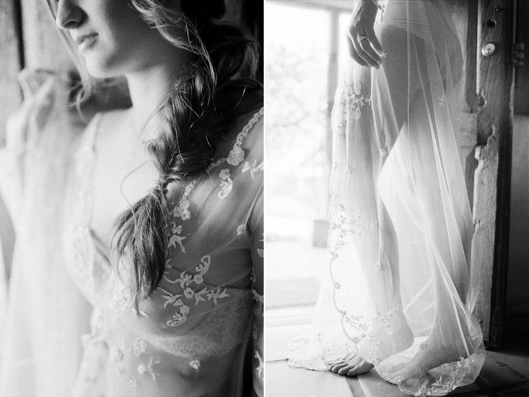Black & White Fine Art Bridal Boudoir
