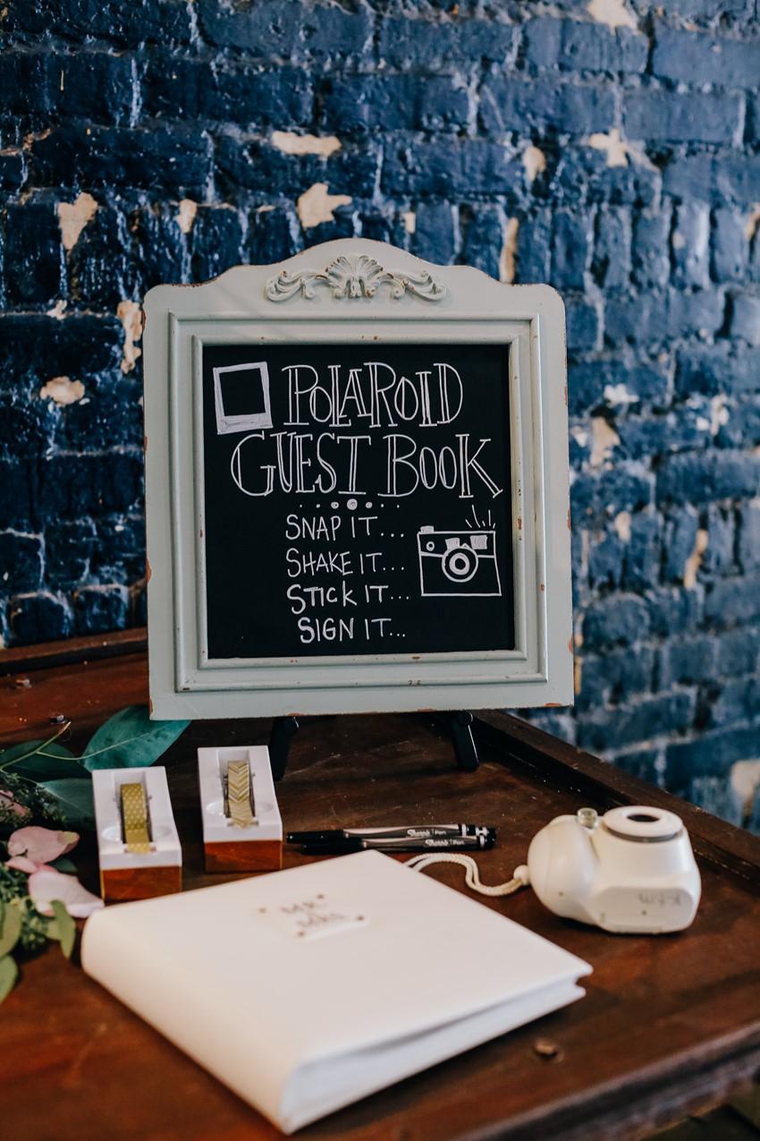 Wedding Guest Book Sign
