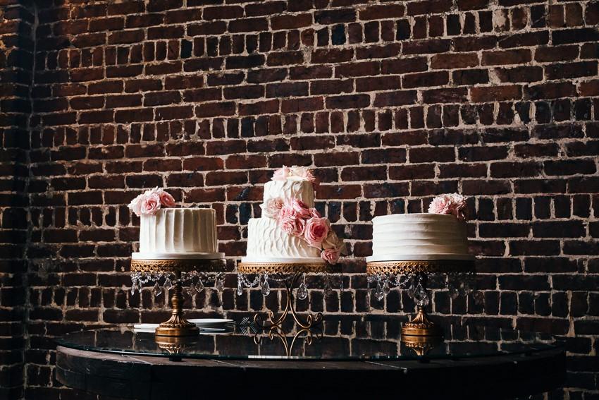 Trio of Wedding Cakes