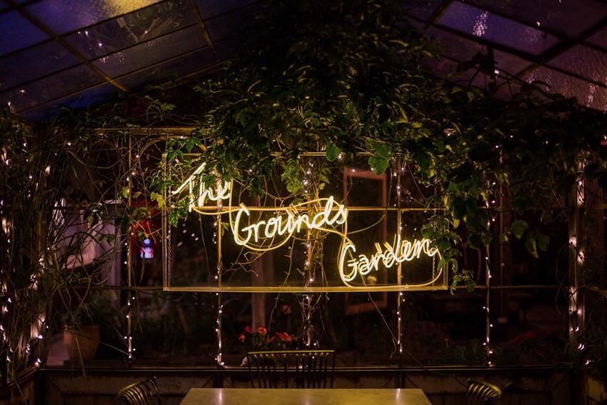 City Garden Wedding Reception