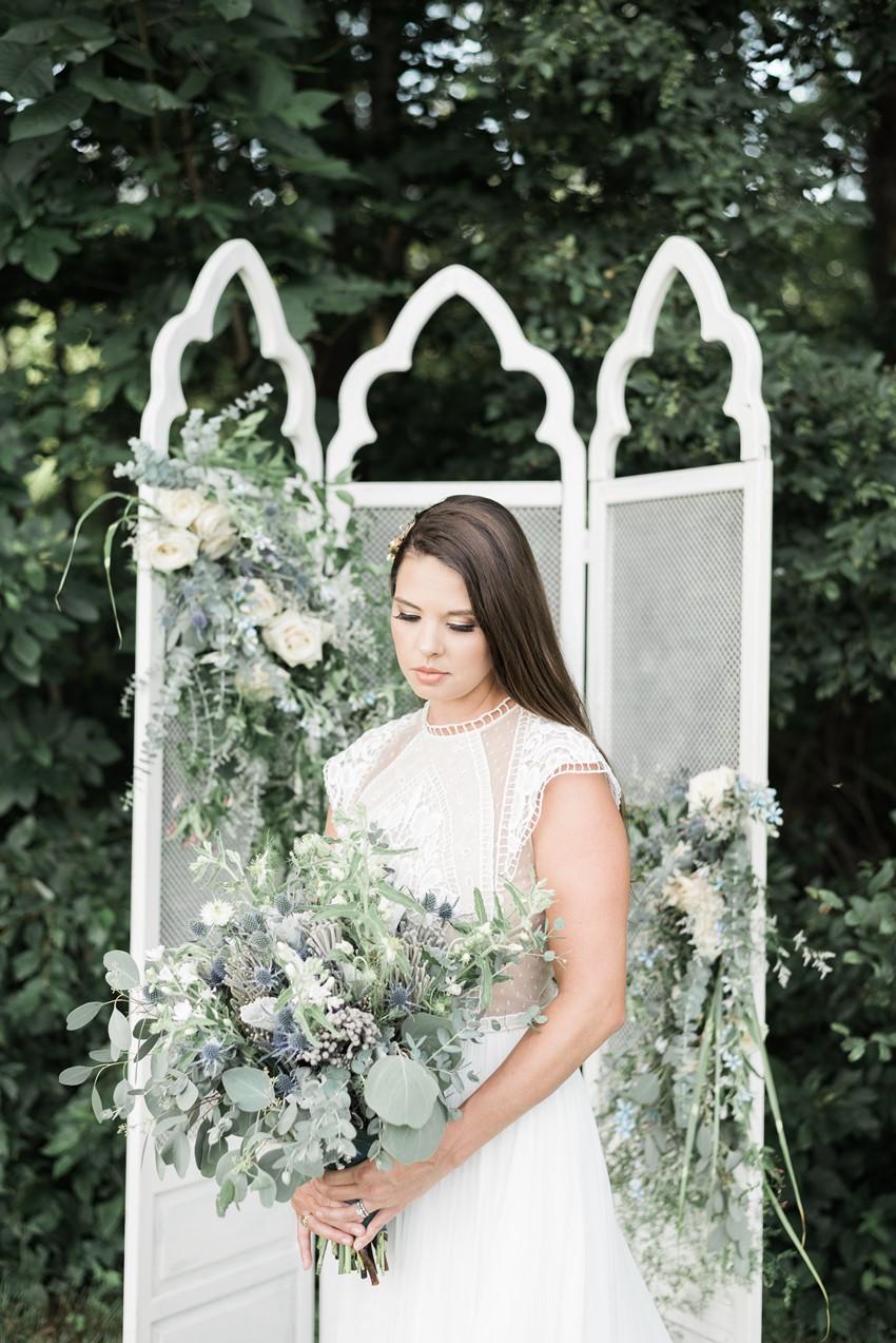 Elegant Vintage Inspired Bridal Look