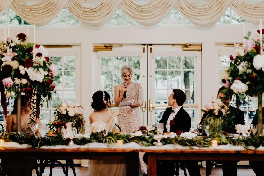 Downton Abbey Inspired Wedding Reception