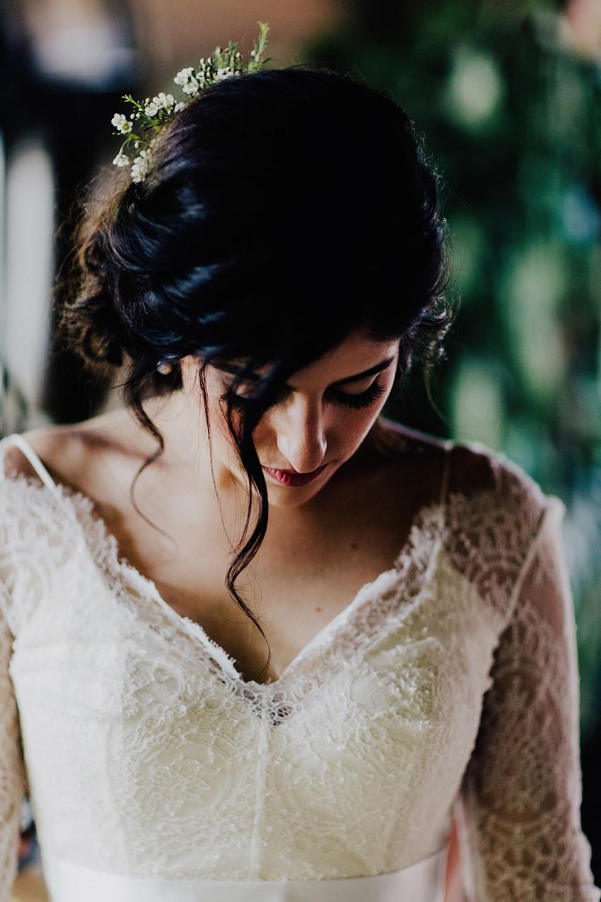 Downton Abbey Inspired Bride