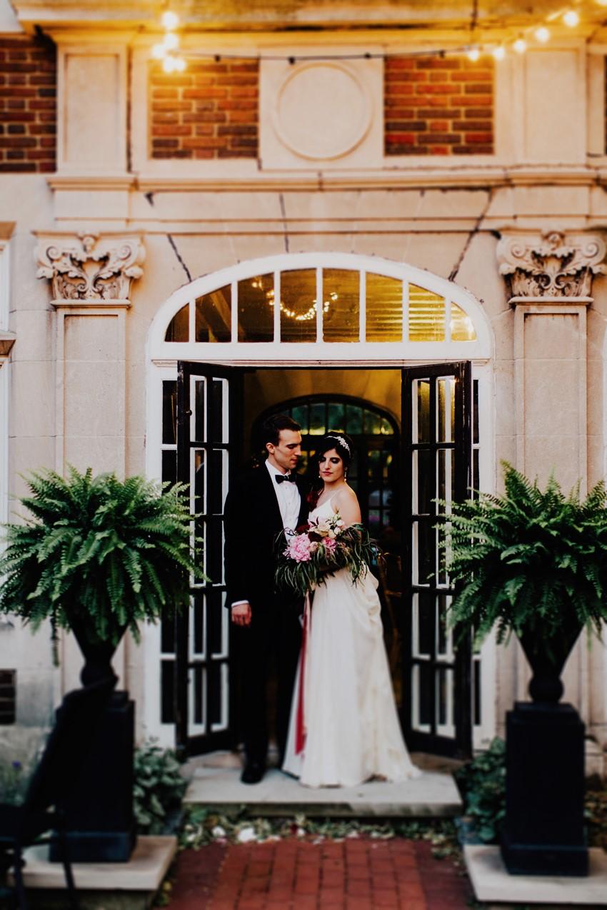 Elegant Downton Abbey Inspired Wedding