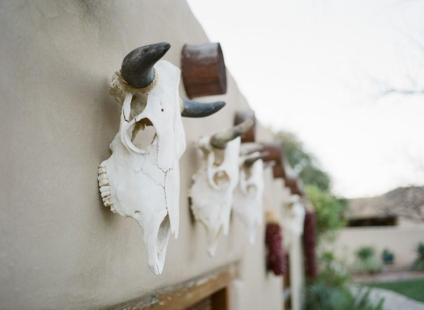 Rustic Desert Bridal Boudoir
