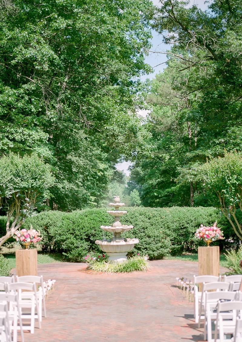 Plantation Garden Wedding Ceremony