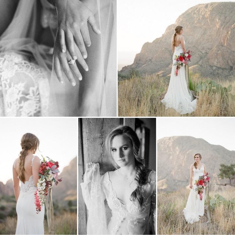 Desert Bridal Shoot & Boudoir
