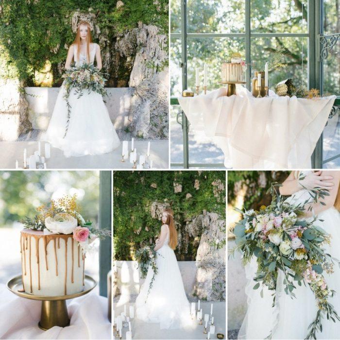 Fairytale Bridal Shoot at an Historic Italian Villa