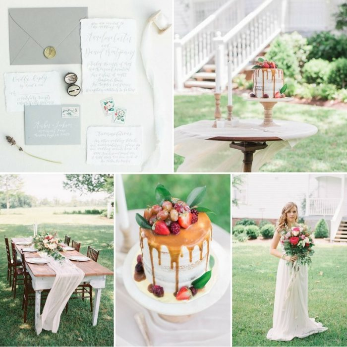 Southern Garden Wedding Inspiration at Palo Alto Plantation