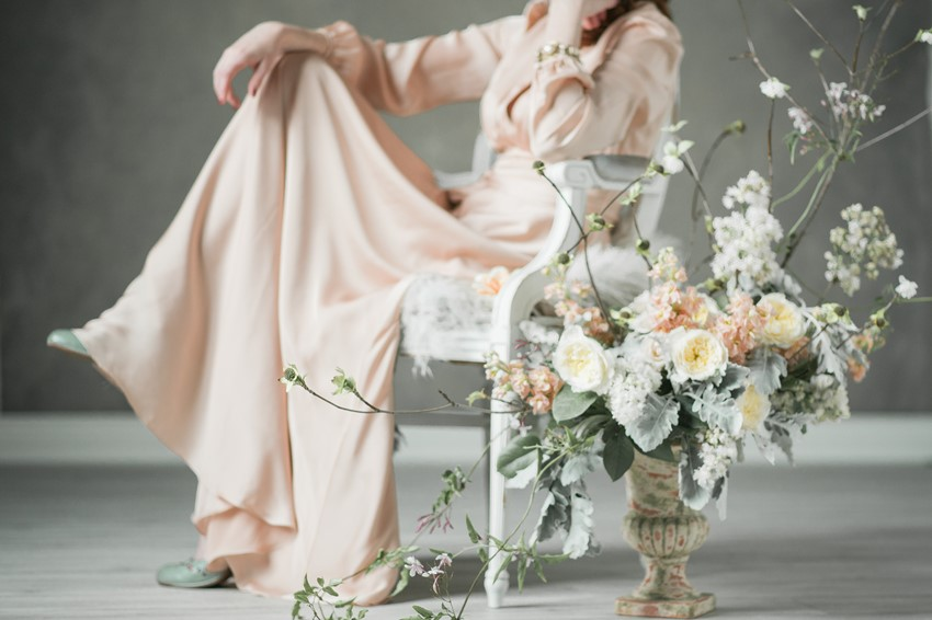 Fine Art Spring Wedding Flowers