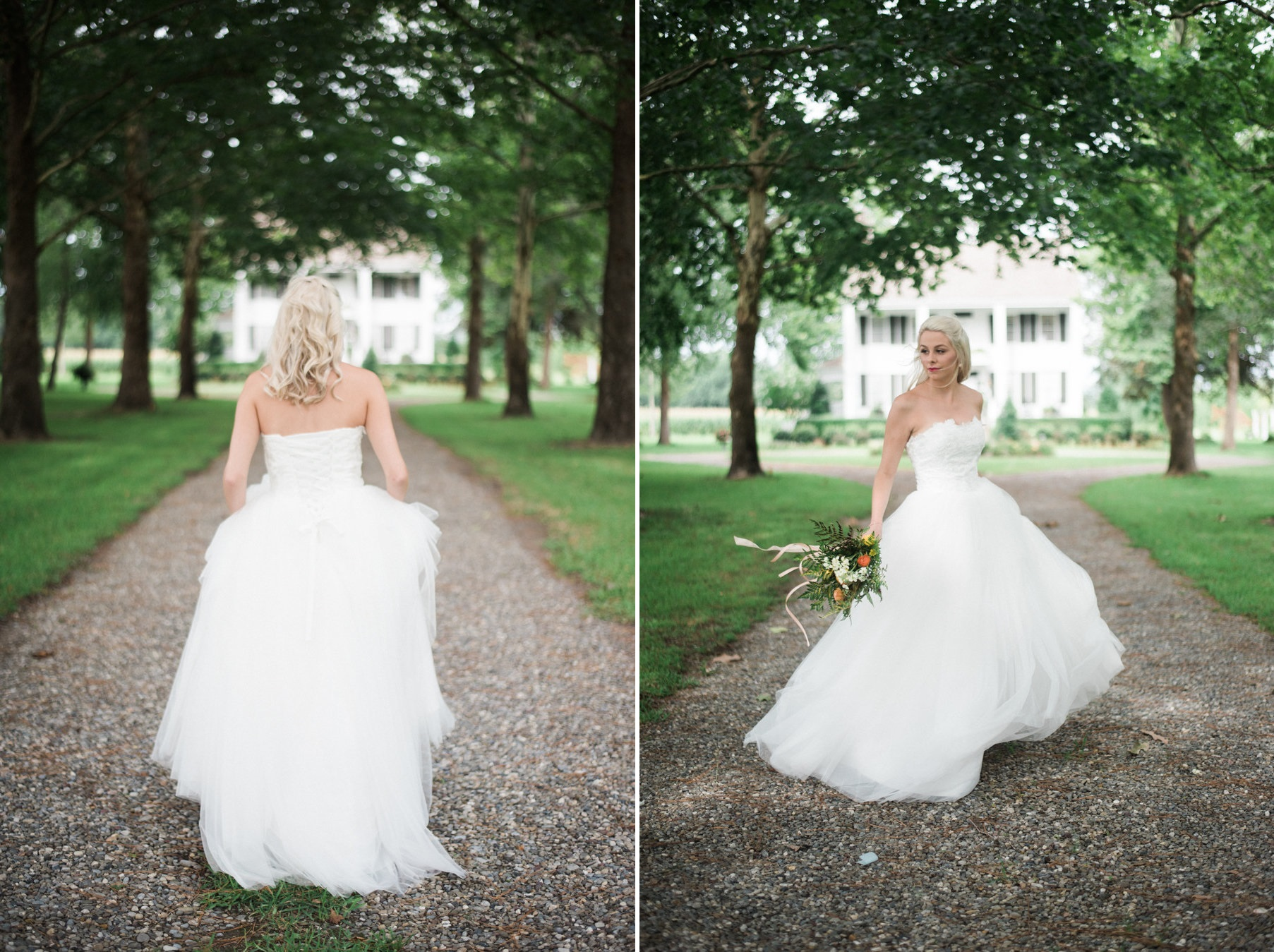 Southern Bride at The Palo Alto Plantation Wedding Venue