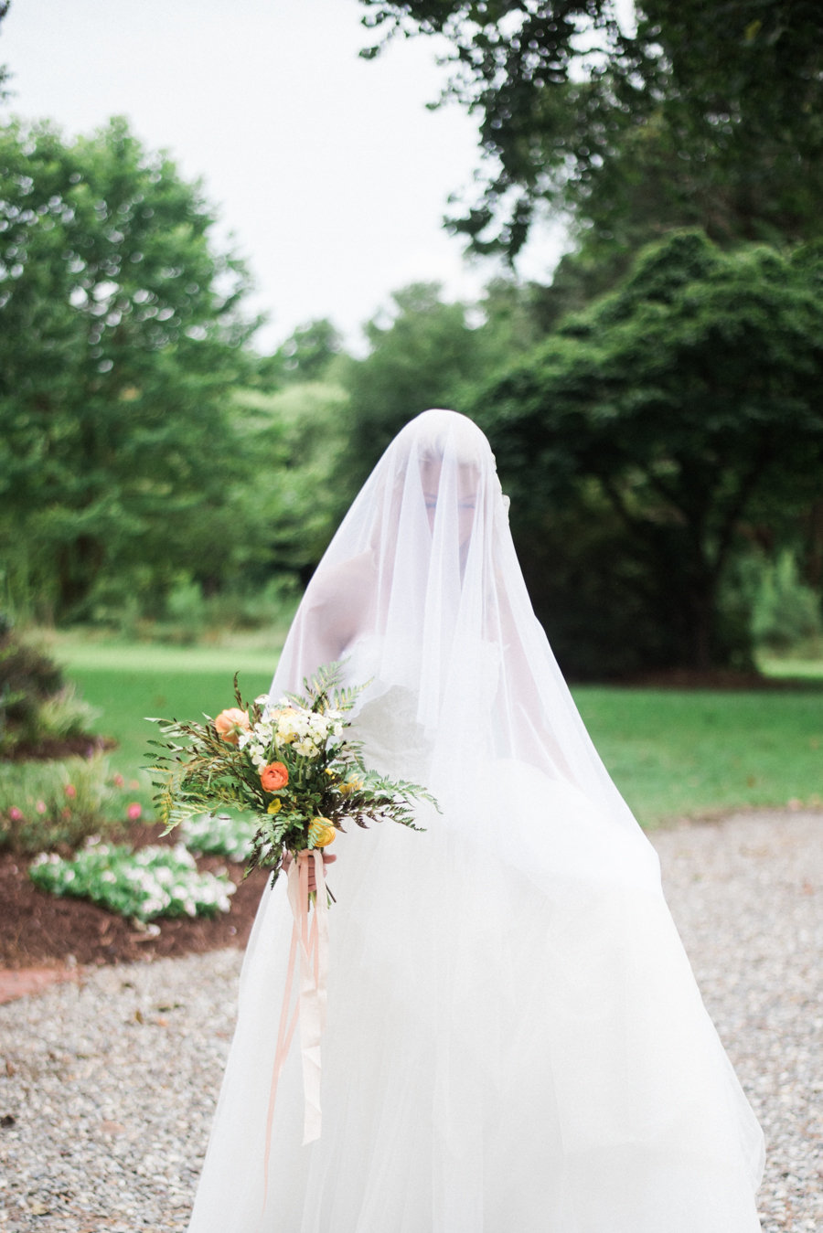 Southern Bride at The Palo Alto Plantation Wedding Venue
