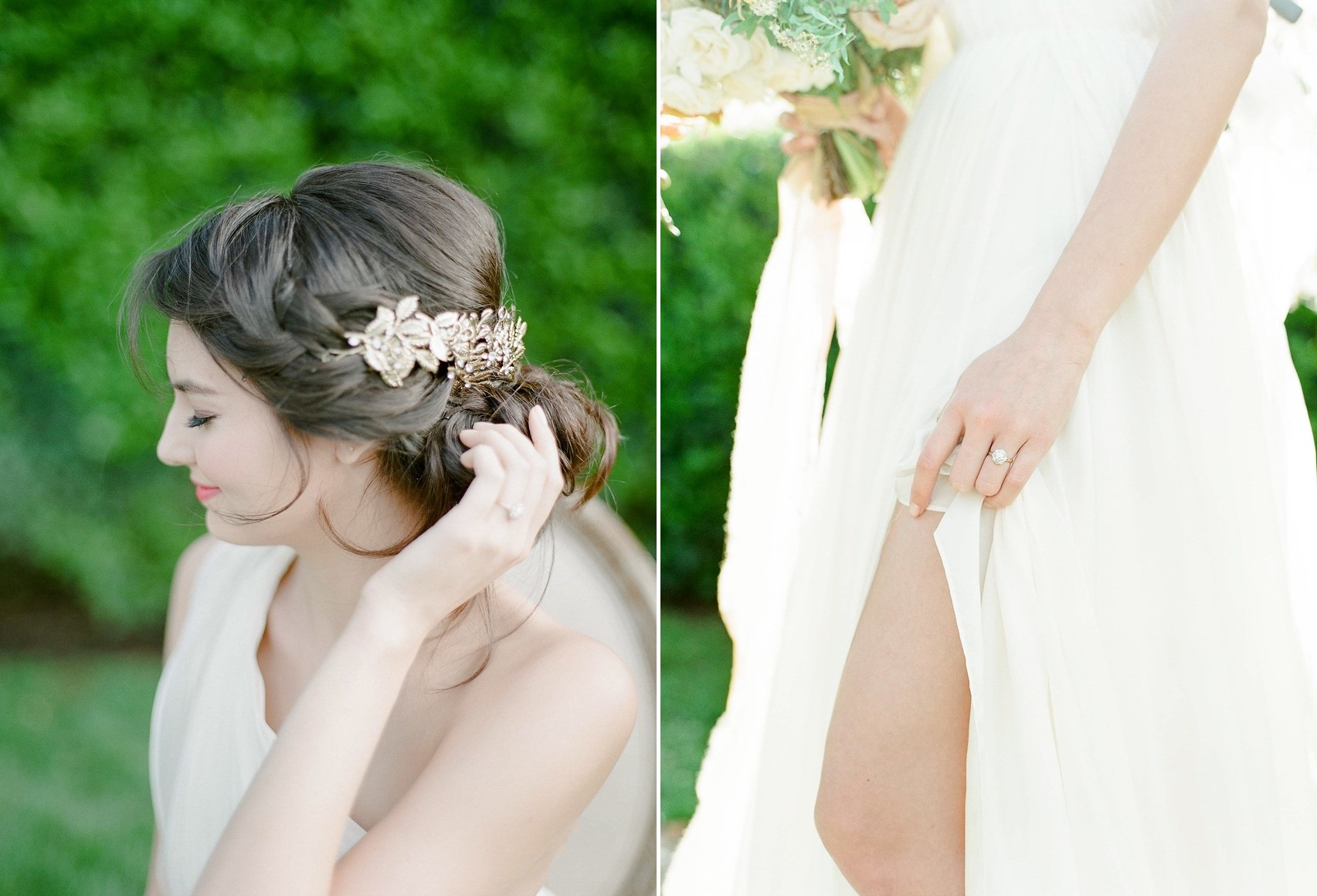 Modern Vintage Bridal Hair Accessory