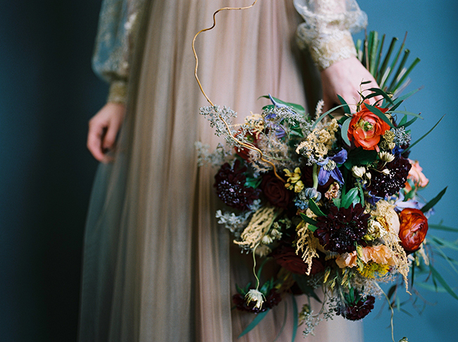 Stunning Fall Bridal bouquet