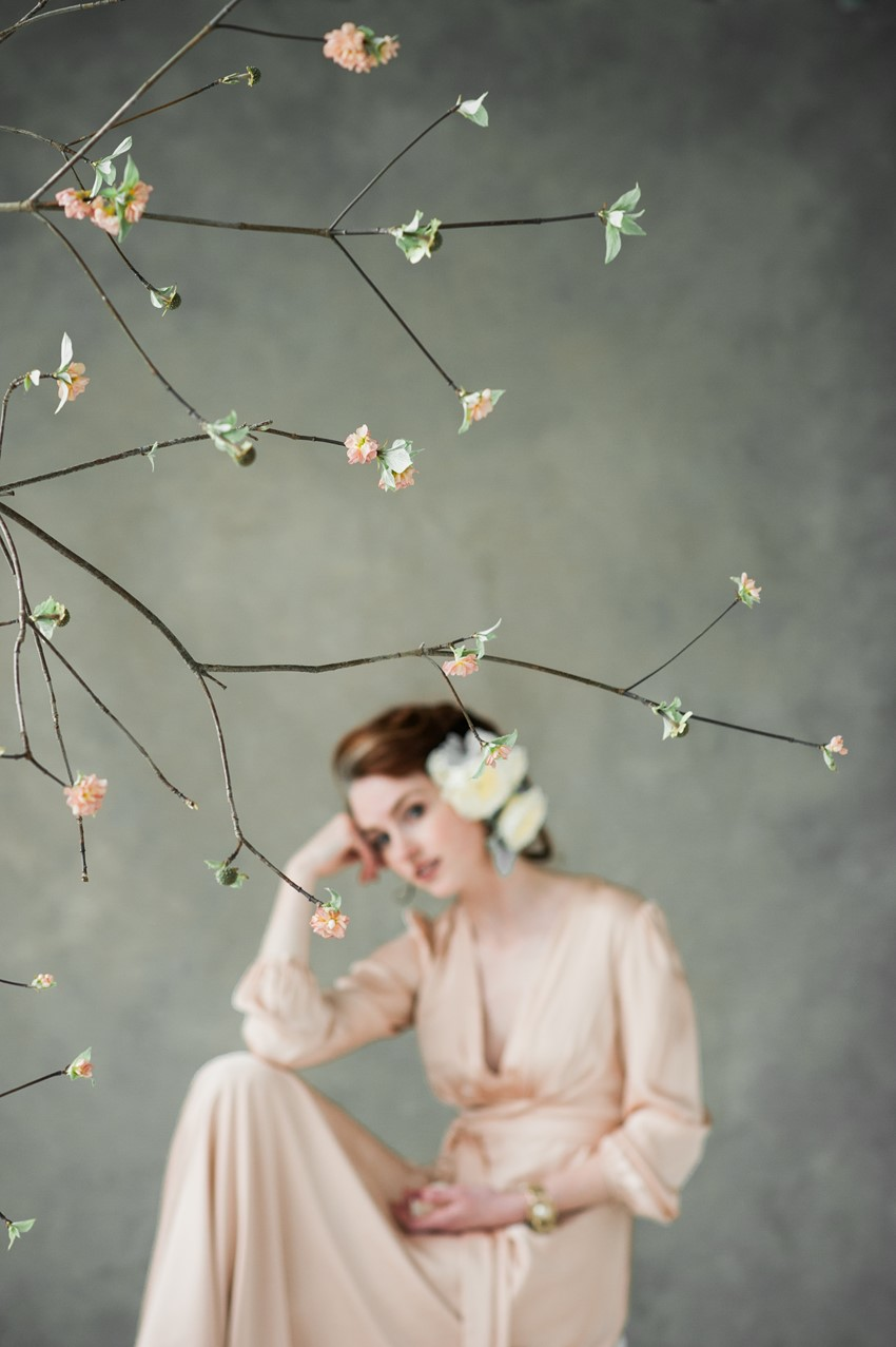 Fine Art Spring Bridal Shoot