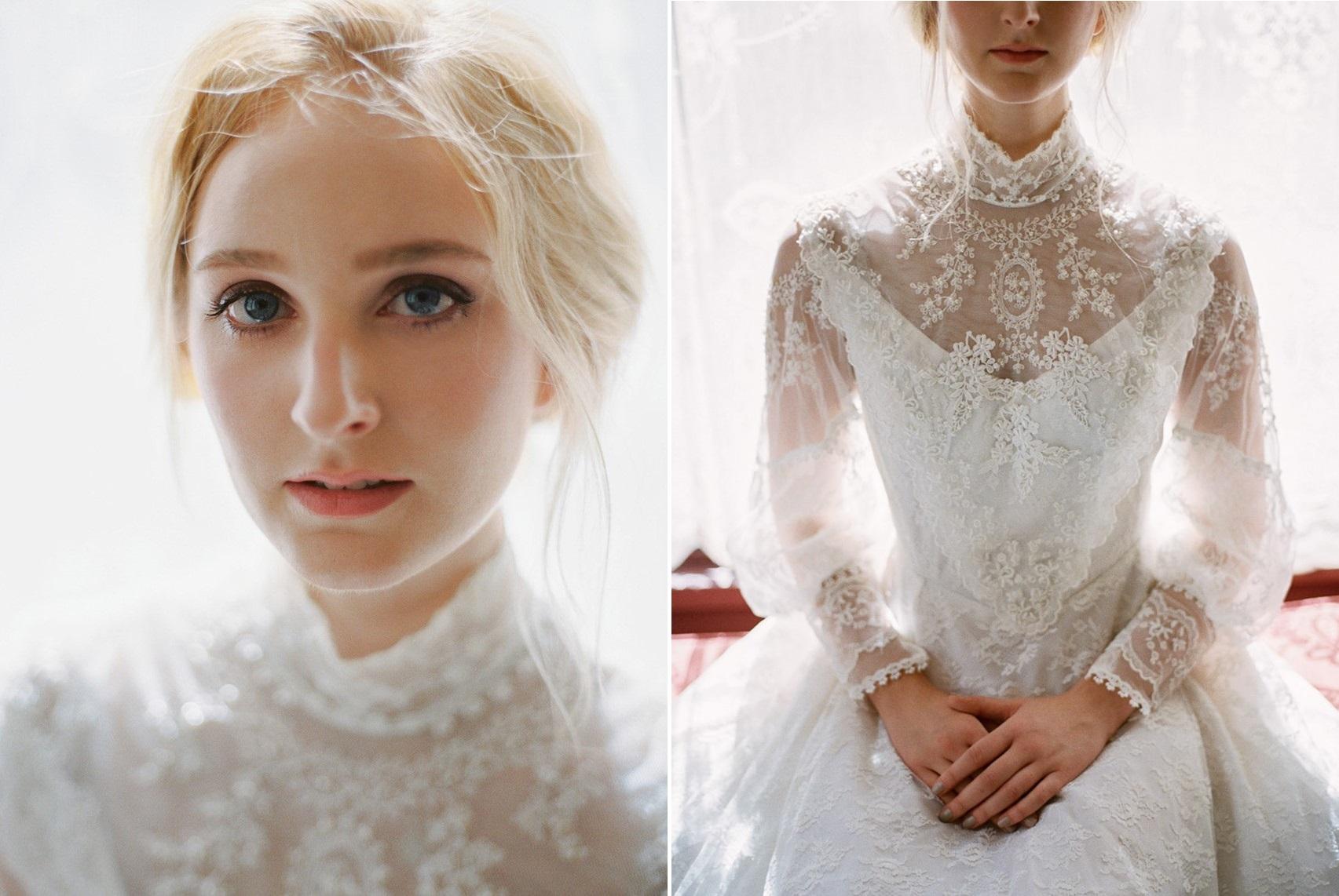 Edwardian Inspired Bride