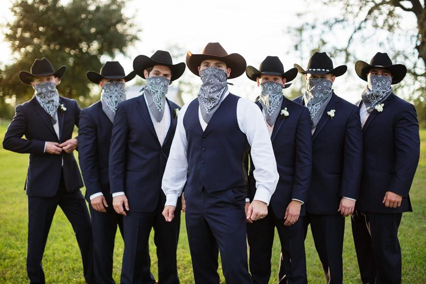 Cowboys Groom & Groomsmen