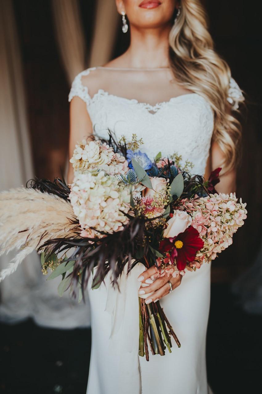 Wild Flower Just Picked Bridal Bouquet