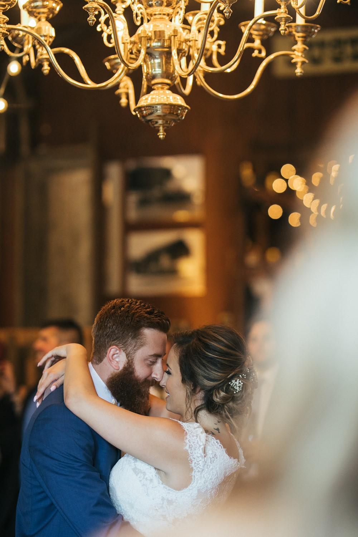 Romantic Barn Wedding Reception