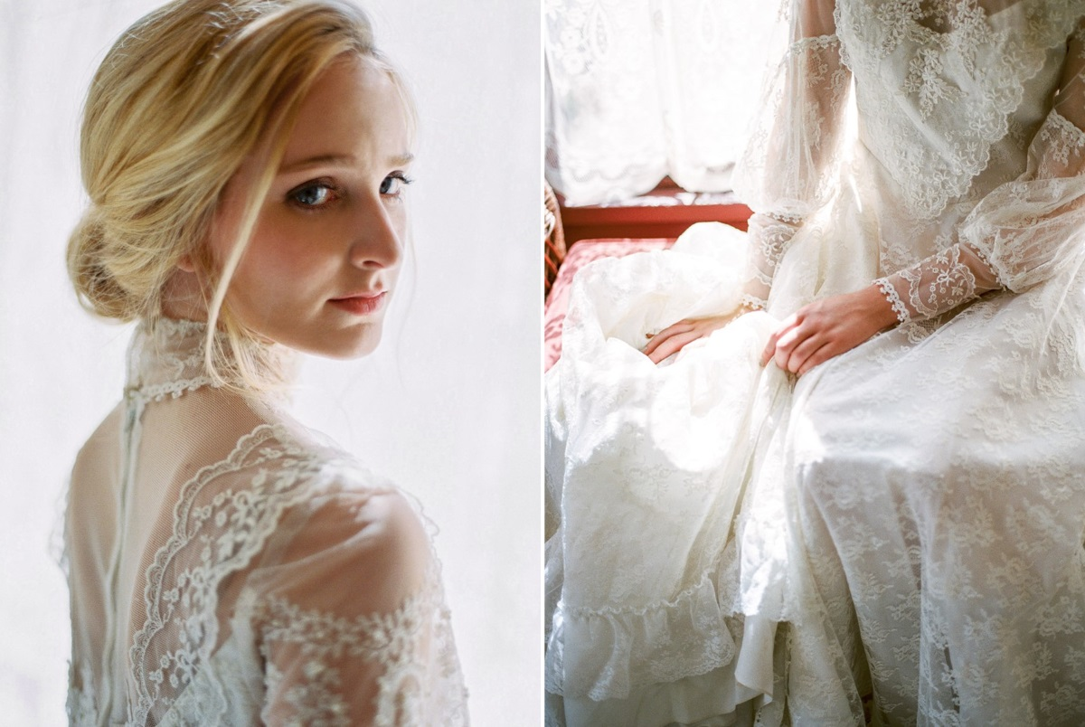 Victorian Inspired Bride
